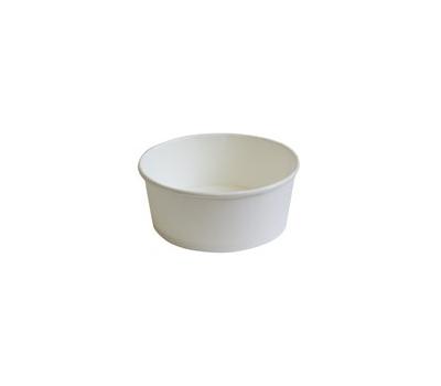 Činija papirnata 350 ml d=121 mm h=52 mm bijela (30 kom/pak)