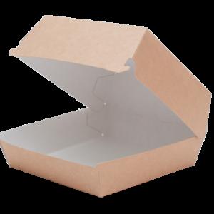Kutija za hamburger Eco Burger 115x115x60 mm kraft