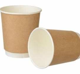 Papirna čaša 2-sl 250 ml d=80 mm Complement kraft (24 kom/pak)