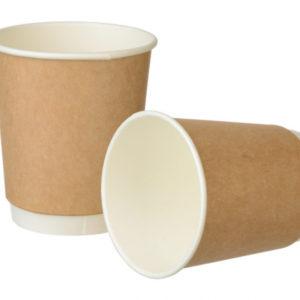 Papirna čaša 2 -sl 250 ml d=80 mm Complement kraft