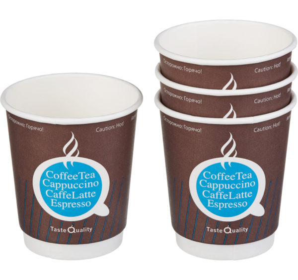 Papirna čaša 2-sl 250 ml d=80 mm TQ (25 kom/pak)