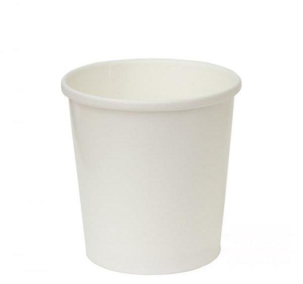 Kartonska posuda za supu Tambien ECO 440 ml d=97 mm h=100 mm bijela (25 kom/pak)