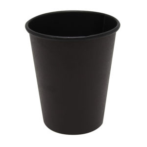 Papirna čaša 1-sl 250 ml d=80 mm Total Black (75 kom/pak)