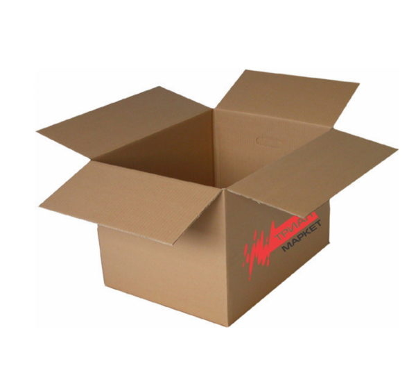 Transportna kartonska škatla 500x330x330mm T22 logo TM