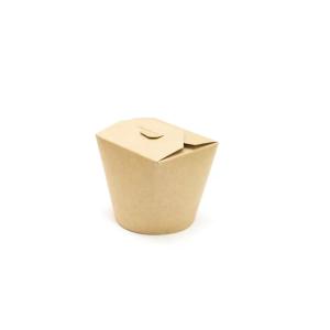 Kartonska kutija za WOK 750 ml kraft (50 kom/pak)