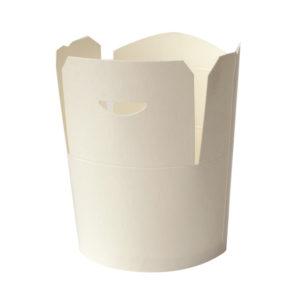 Kartonska kutija 750 ml d=92 mm h=100 mm bijela (50 kom/pak)