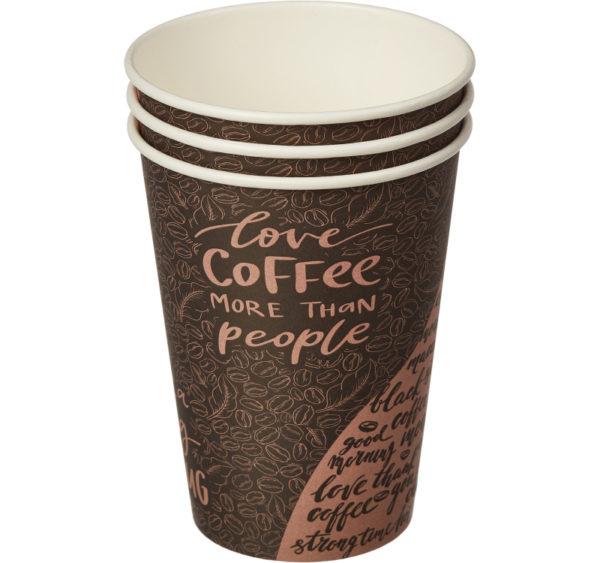 Papirna čaša 1-sl 300 ml d=90 mm Coffee (50 kom/pak)