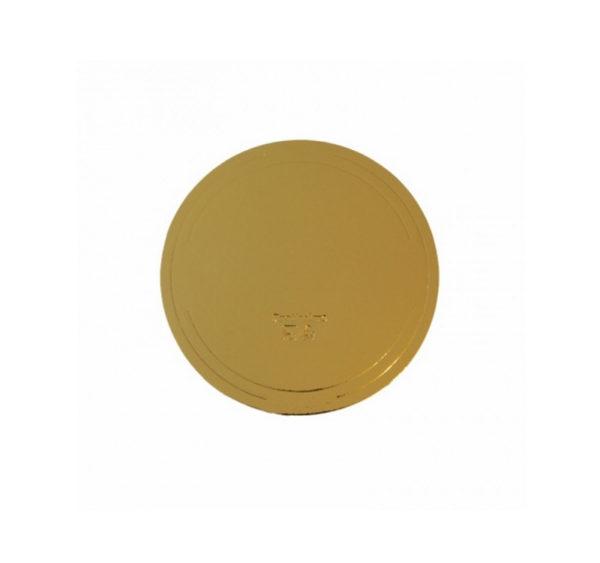 Podmetač od kartona d=240 mm zlato/bijele bisere (10 kom/pak)
