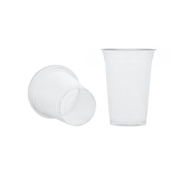 Čaša PET 400 ml d=95 mm providna (50 kom/pak)