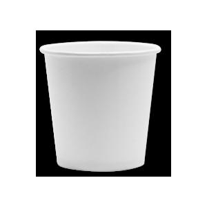 Papirna čaša 1-sl 100 ml d=62 mm bijela (100 kom/pak)