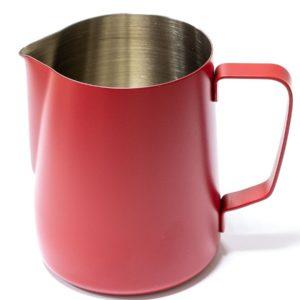 Vrč za mlijeko od nehrđajućeg čelika 600 ml crveni