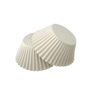 Minjoni papirne korpice za pecivo okruglid=55 mm h=42,5 mm bijeli (1000 kom/pak)