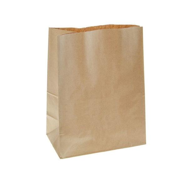Papirna kesa 320x200x330 mm kraft (500 kom/pak)