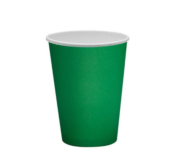 Papirna čaša 1-sl 300 ml d=90 mm zelena (50 kom/pak)
