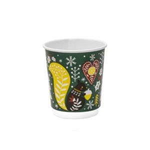 Papirna čaša 2-sl 250 ml d=80 mm Zimska bajka (24 kom/pak)